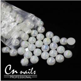 Perličky na nechty 50ks 3mm Perličky, perlové kamienky