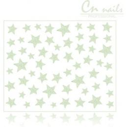 Hviezdičky na nechty