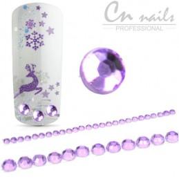 Nalepovacie kamienky Fiolet 26ks Kamienky, perličky