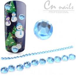 Nalepovacie kamienky Blue 26ks Kamienky, perličky
