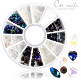 NR.18 Kamienky na nechty v karusely Karusel s ozdobami