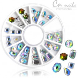 NR.19 Kamienky na nechty v karusely Karusel s ozdobami
