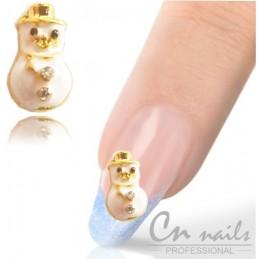 NR.26 Šperk na nechty snehuliak Šperky na nechty