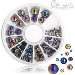 NR.22 Kamienky na nechty v karusely Karusel s ozdobami