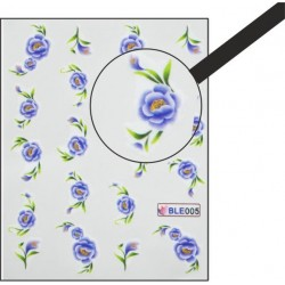 NR.005 Vodolepky Spring time Vodové nálepky Kvety