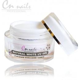PRÍRODNE natural biely UV GEL 15 ml CN nails Biele gely na NECHTY