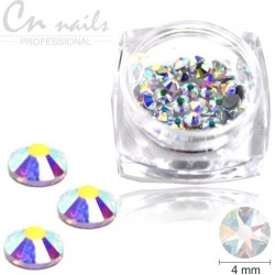 Medium Star 4mm 50ks Luxury a ´la swarovski