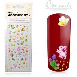 NR 266 Beautiful Finger Nálepky Jar