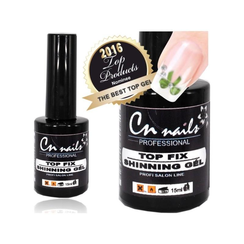 Top fix shining uv gel 15ml CN nails Ukončovacie, vrchné gély
