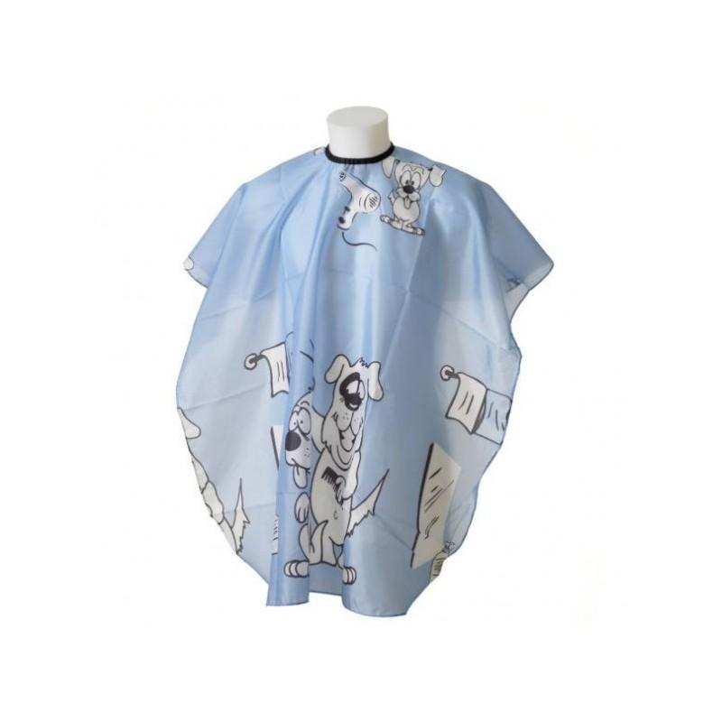 Detská pláštenka na strihanie vlasov Blue Kadernícke pomôcky 6bf7c25c260