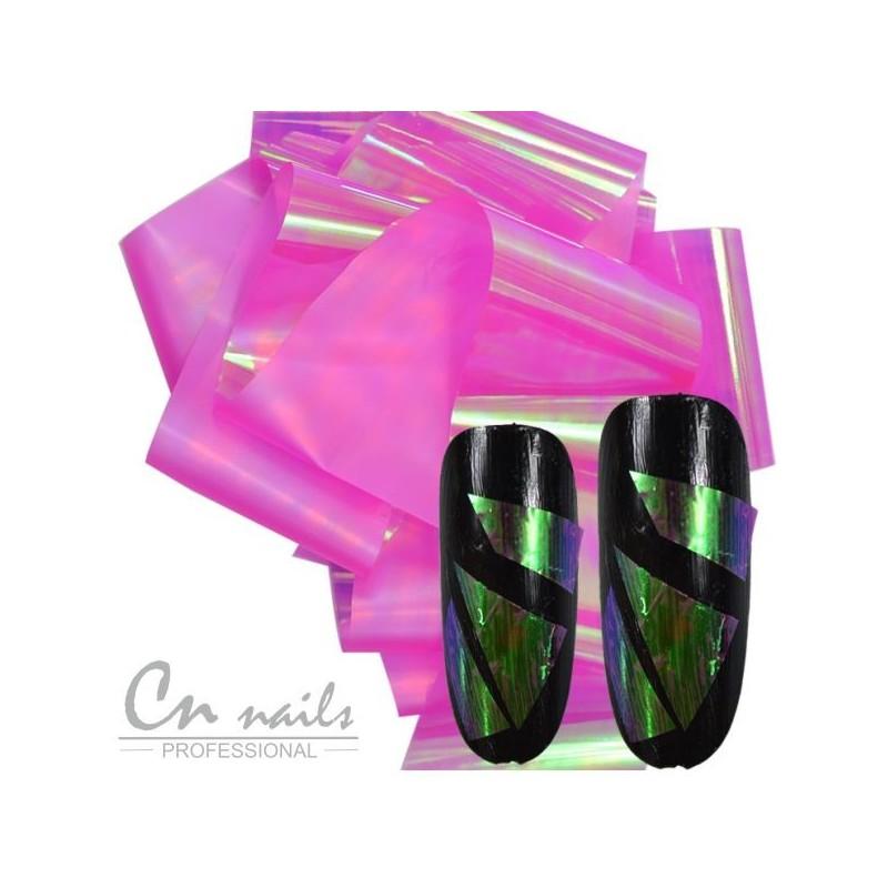 NR.2 Glass effect - nail art fólia Nail foil - efekt skla