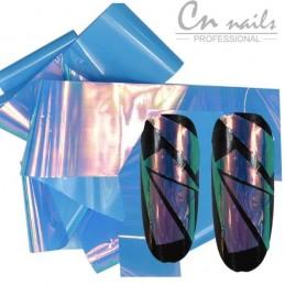 NR.4 Glass effect - nail art fólia Nail foil - efekt skla