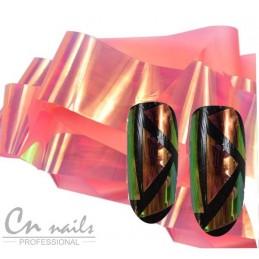 NR.6 Glass effect - nail art fólia Nail foil - efekt skla