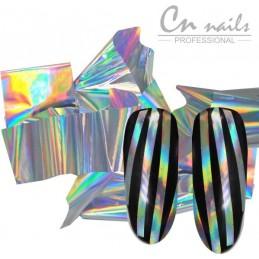 NR.7 Glass effect - nail art fólia Nail foil - efekt skla