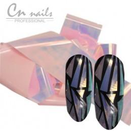 NR.5 Glass effect - nail art fólia Nail foil - efekt skla