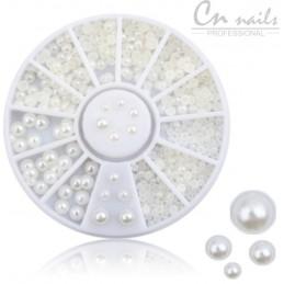 NR.24 Perličky biele v karusely