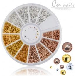 NR.27 Mini perličky v karusely Karusel s ozdobami