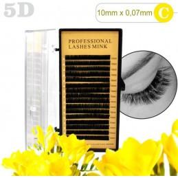 5D lashes 100% NORK 10mm 5D mihalnice Tip C