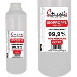 Isopropyl alkohol 99,9% - 1000 ml CN nails Dezinfekcie, čističe, odstraňovače