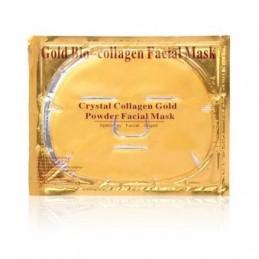 Kolagénová maska na tvár so zlatom