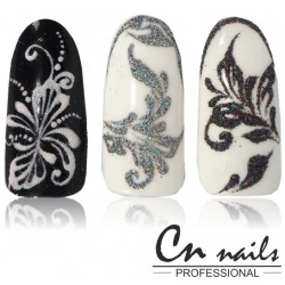 Saphire - Nail art