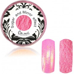 NR.18 Sugar and Mirror efect baby pink Sugar and Mirror efect