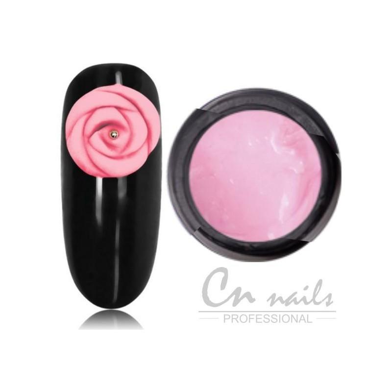 NR.04 Lace gel Baby Pink 5D, 3D, LACE gély