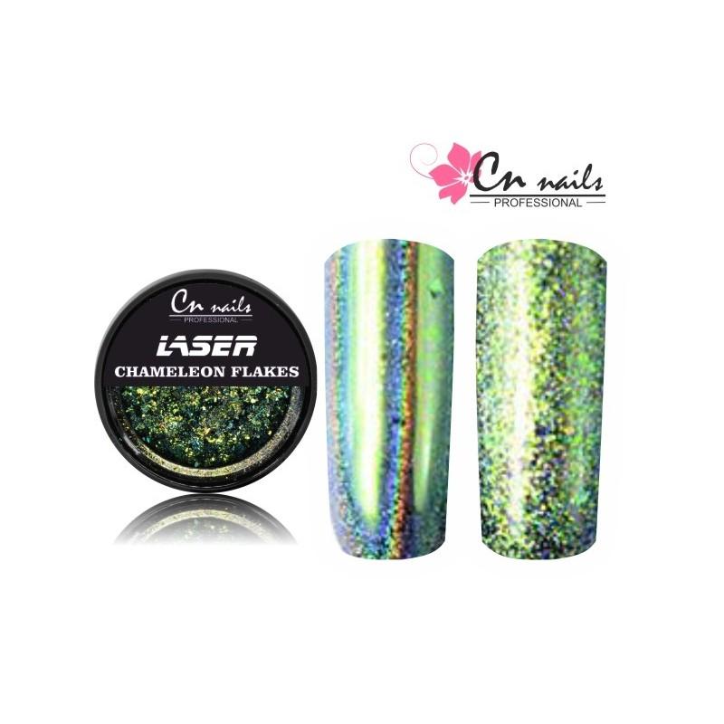 NR.3 Laser chameleon flakes Mirror flakes - zrkadlové vločky