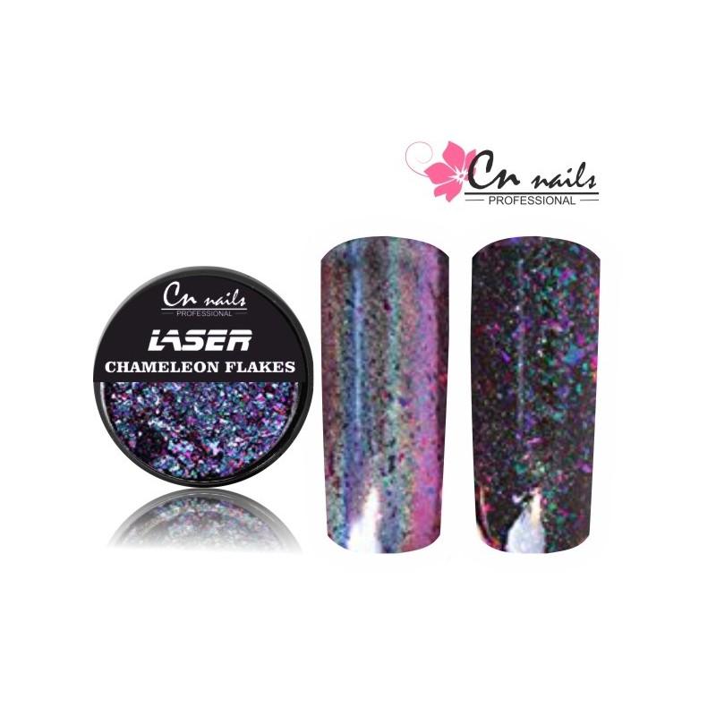 NR.1 Laser chameleon flakes Mirror flakes - zrkadlové vločky
