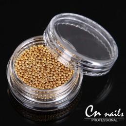 Perličky Gold Perličky, perlové kamienky