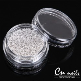 Perličky Silver Perličky, perlové kamienky