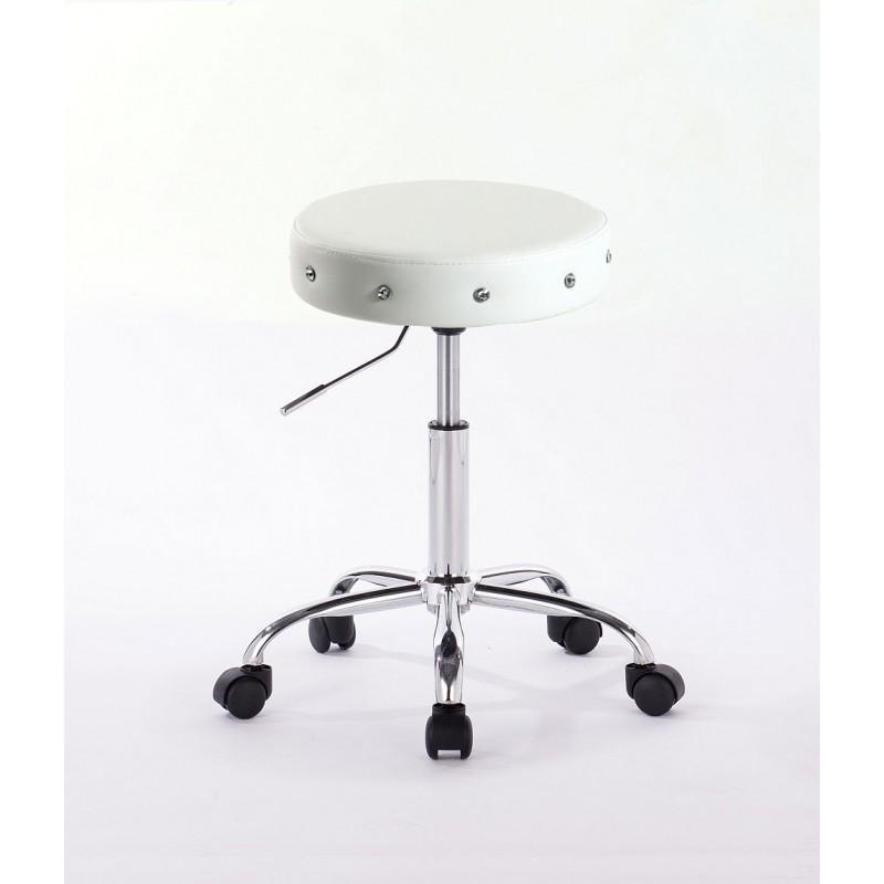 Kozmetická stolička Modena White Kozmetické stoličky