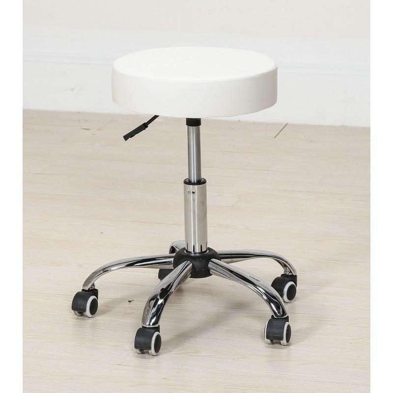 Kozmetická stolička Klasik White Kozmetické stoličky