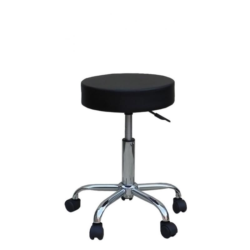 Kozmetická stolička Klasik Black Kozmetické stoličky