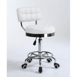 Kozmetická stolička Armani White Kozmetické stoličky