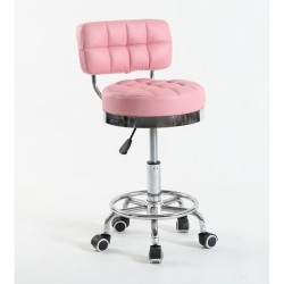 Kozmetická stolička Armani Pink Kozmetické stoličky