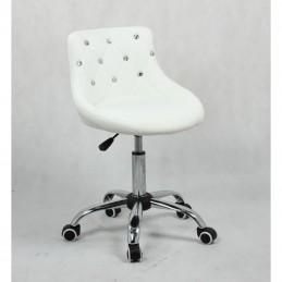 Kozmetická stolička Elegance White Kozmetické stoličky