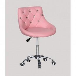 Kozmetická stolička Elegance Pink Kozmetické stoličky