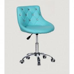 Kozmetická stolička Elegance Blue Kozmetické stoličky