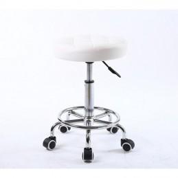 Kozmetická stolička Amia White Kozmetické stoličky