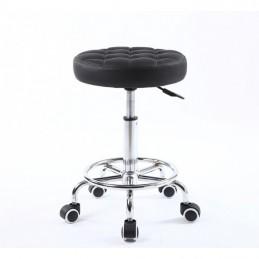 Kozmetická stolička Amia Black Kozmetické stoličky