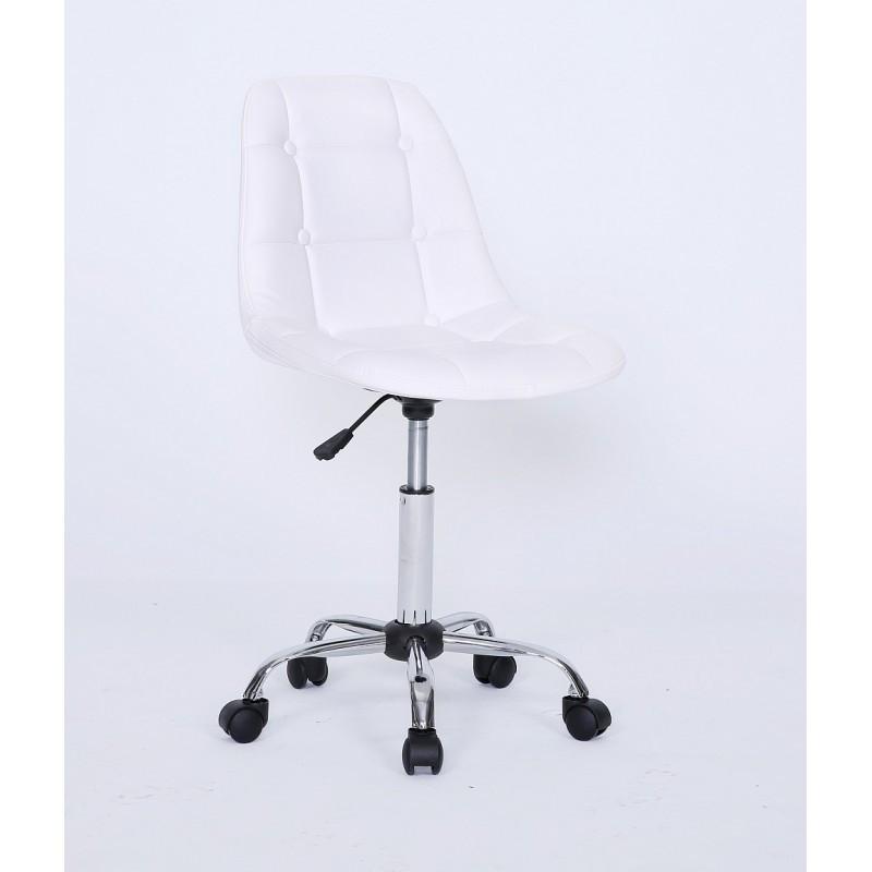 Kozmetická stolička Laura White Kozmetické stoličky
