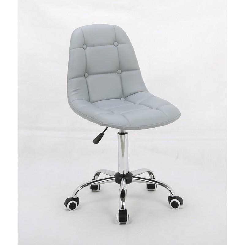 Kozmetická stolička Laura Silver Kozmetické stoličky