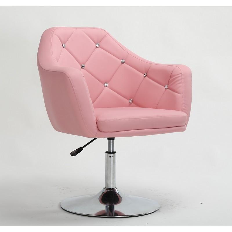 Kreslo Prestige Pink Stoličky do čakárne
