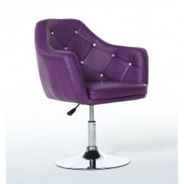 Kreslo Prestige Dark Violet Stoličky do čakárne