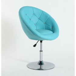 Kreslo Elegance Blue Stoličky do čakárne