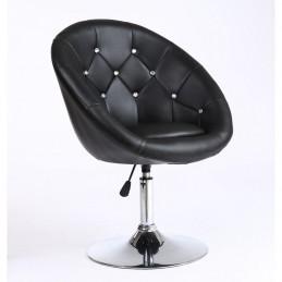 Kreslo Elegance Black Stoličky do čakárne