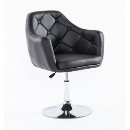 Kreslo Prestige II. Black Stoličky do čakárne