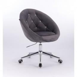 Kreslo Elegance Velur Silver Kreslá, stoličky