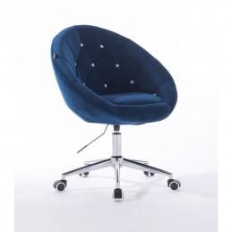 Kreslo Elegance Velur Čierne more Kreslá, stoličky